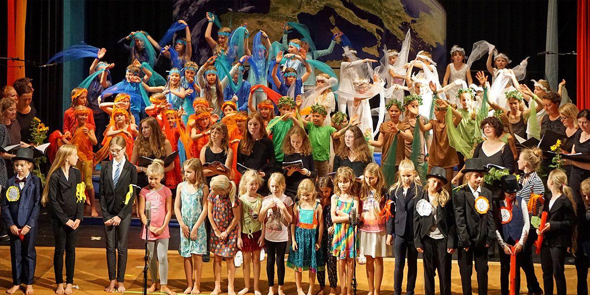Kinderchor: Der blaue Planet