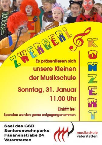 Zwergerl Konzert 2016